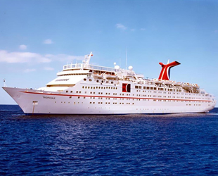 Carnival Cruise'un ilk gemisi, Hindistan'da söküme gitti