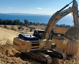Saros FSRU Gemi İskelesi Projesi inşaatı tepkilere rağmen devam ediyor