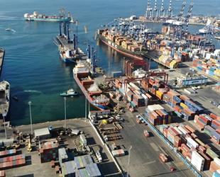 Limanlarda elleçlenen yük miktarı Aralık ayında yüzde 7 arttı