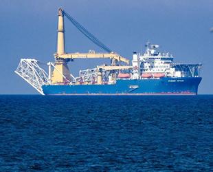 'Akademik Çerskiy' boru döşeme gemisi, Kuzey Akım 2 inşası bölgesine döndü