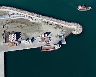 Filyos Limanı'ndaki çalışmalarda sona gelindi