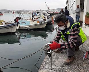 Kuşadası Balıkçılar Barınağı'ndaki mapalar yenilendi