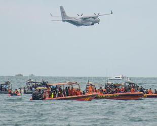 Endonezya uçağının düştüğü bölgede çalışmalar sürüyor
