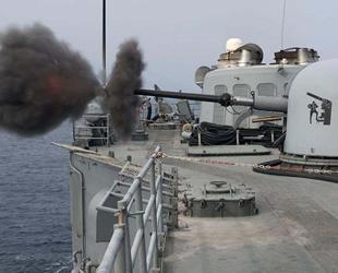 Doğu Akdeniz'de 'Fiilî Silah Atış Eğitimleri' gerçekleştirildi