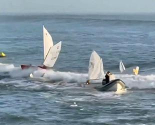 ABD'de 4 yelkenli tekne alabora oldu: 12 çocuk kurtarıldı!