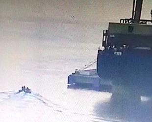 Kaçak midye avcıları yakalanmamak için tekne batırdılar