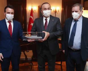 Francisco Javier Hergueta ve Pablo Menendez, Dışişleri Bakanı Mevlüt Çavuşoğlu'nu ziyaret etti