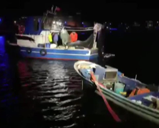 Kocaeli'de yasak bölgede balık avı yapan 6 kişi yakalandı