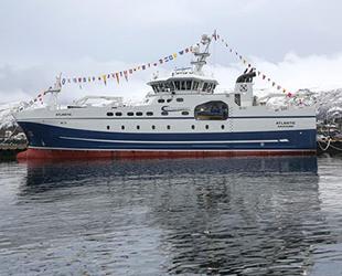 Atlantic fabrika balıkçı gemisi, 'En İyi Longliner Ödülü'nü aldı