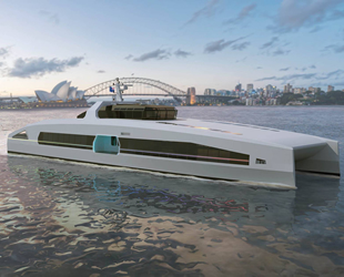 Austal, VOLTA serisi elektrikli yüksek hızlı feribotu tanıttı