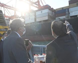 Vali Ali İhsan Su, Mersin Limanı'nı inceledi