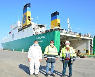 Karasu Limanı'ndan Romanya'ya başlayan Ro-Ro seferleri ihracata katkı sağlayacak