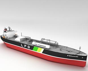 NYK, ilk LPG tahrikli VLGC'lerini sipariş etti