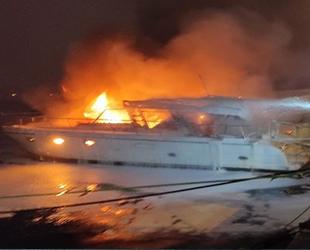 Bebek Sahili'nde iki teknede çıkan yangının nedeni belli oldu