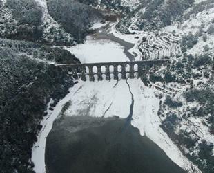 İstanbul'da baraj doluluk oranı cadde ve sokaklardan toplanan karlarla yükseltiliyor