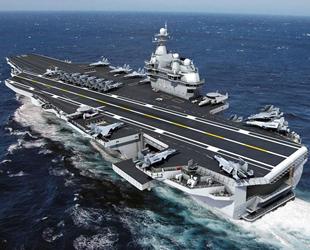 Çin, üçüncü uçak gemisini bu yıl tamamlayacak