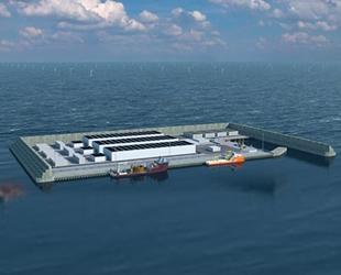 Danimarka, açık deniz rüzgar enerjisi için yapay ada inşa ediyor