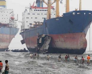 Alang Gemi Söküm Sahası'nın kapasitesinin iki katına çıkarılması planlanıyor
