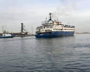 Hastalıklı hayvan taşıyan Elbeik isimli gemi, Mağusa Limanı açıklarına demirledi