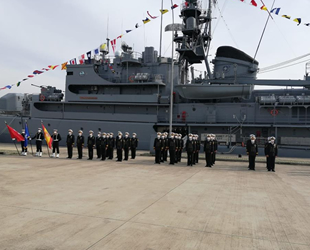 SNMCMG-2'nin komutası Türk Deniz Kuvvetleri Komutanlığı'na devredildi
