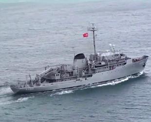 Yunan savaş uçakları, TCG Çeşme gemisini chaff fişeği atarak taciz etti