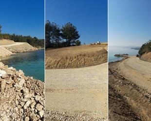 Saros Körfezi'nde doğalgaz limanı için doğa katliamı yapılıyor