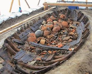 Balıkçıların ağlarına 13 adet amfora takıldı