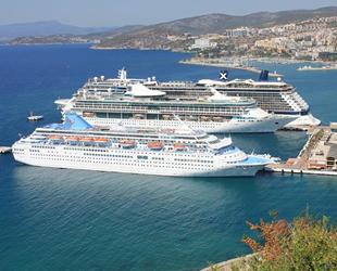 Kuşadası, 2021 sezonunda gemilerle 200 bin turist hedefliyor