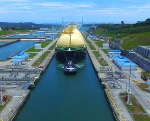 Panama Kanalı, LNG geçişinde yeni bir rekor kırdı