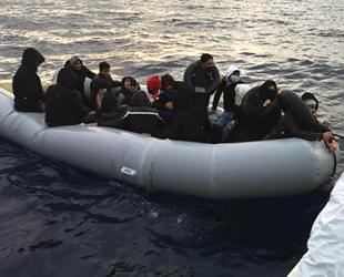 Marmaris'te 28 düzensiz göçmen kurtarıldı