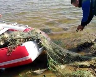Kaçak avlanan 2 ton balık yeniden suya bırakıldı