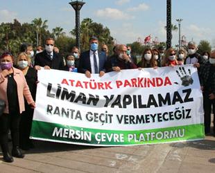 Sabahat Aslan: Mersin Limanı genişletmesi hukuksuz
