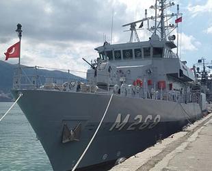Türk savaş gemileri, Odessa Limanı'na demir attı