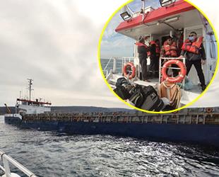 FORTUNE isimli kuru yük gemisi, Şile açıklarında arızalandı