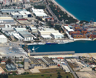 Antalya Serbest Bölge'de ticaret hacmi salgına rağmen arttı
