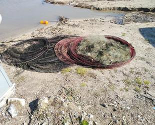 Terkos Gölü'nde kaçak olarak avlanan balıklar suya bırakıldı