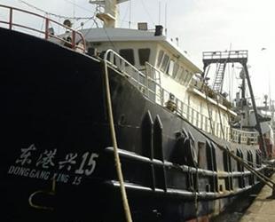 Türk mürettebatlı Çin balıkçı gemisi, Fas'ta gözaltına alındı