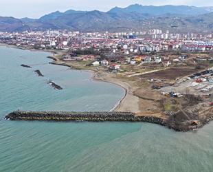 Altınordu'ya balıkçı barınağı inşa ediliyor