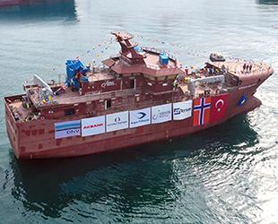 Tersan Tersanesi, Argos Helena isimli fabrika balıkçı gemisini suya indirdi