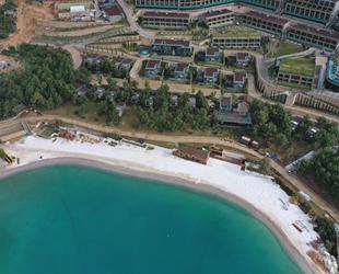 Mermer tozlu sahte Maldiv sahilleri ile mücadele yeniden başladı