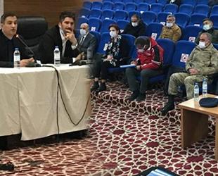 Van'da 'İnci Kefali Av Yasağı Koordinasyon ve Bilgilendirme Toplantısı' yapıldı