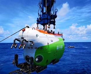 İnsanlı deniz altına dalma aracı, Çin Bilim Akademisi'ne teslim edildi