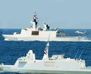 Mısır ve Fransa, Akdeniz'de ortak tatbikat gerçekleştirdi