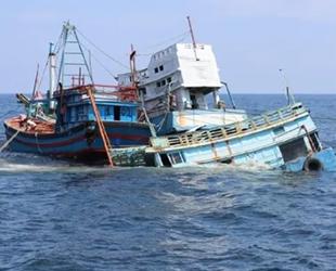 Endonezya, Malezya'ya ait olan 2 adet balıkçı teknesini batırdı