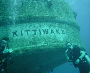 Adrenalin tutkunlarının favorisi USS Kittiwake gemisi oldu