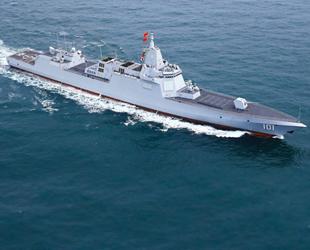 Çin, füze rampalı destroyerini denize indirdi