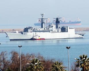 NATO'da görevli savaş gemileri Samsun Limanı'na demirledi