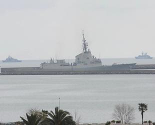 NATO'da görevli savaş gemileri, Samsun'dan ayrıldı