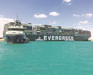 Mısır, Süveyş Kanalı'nı kapatan Ever Given gemisini alıkoyacak