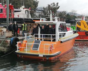 Okantrans, Körfez Ekspres isimli tekneyi suya indirdi